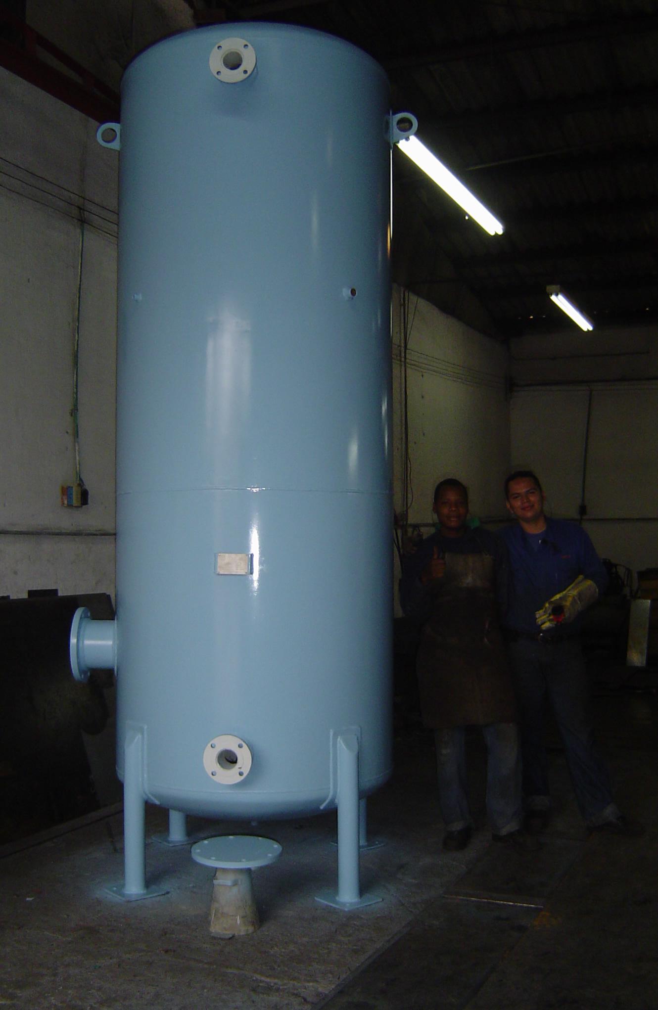 Tanque Aire Comprimido metálico