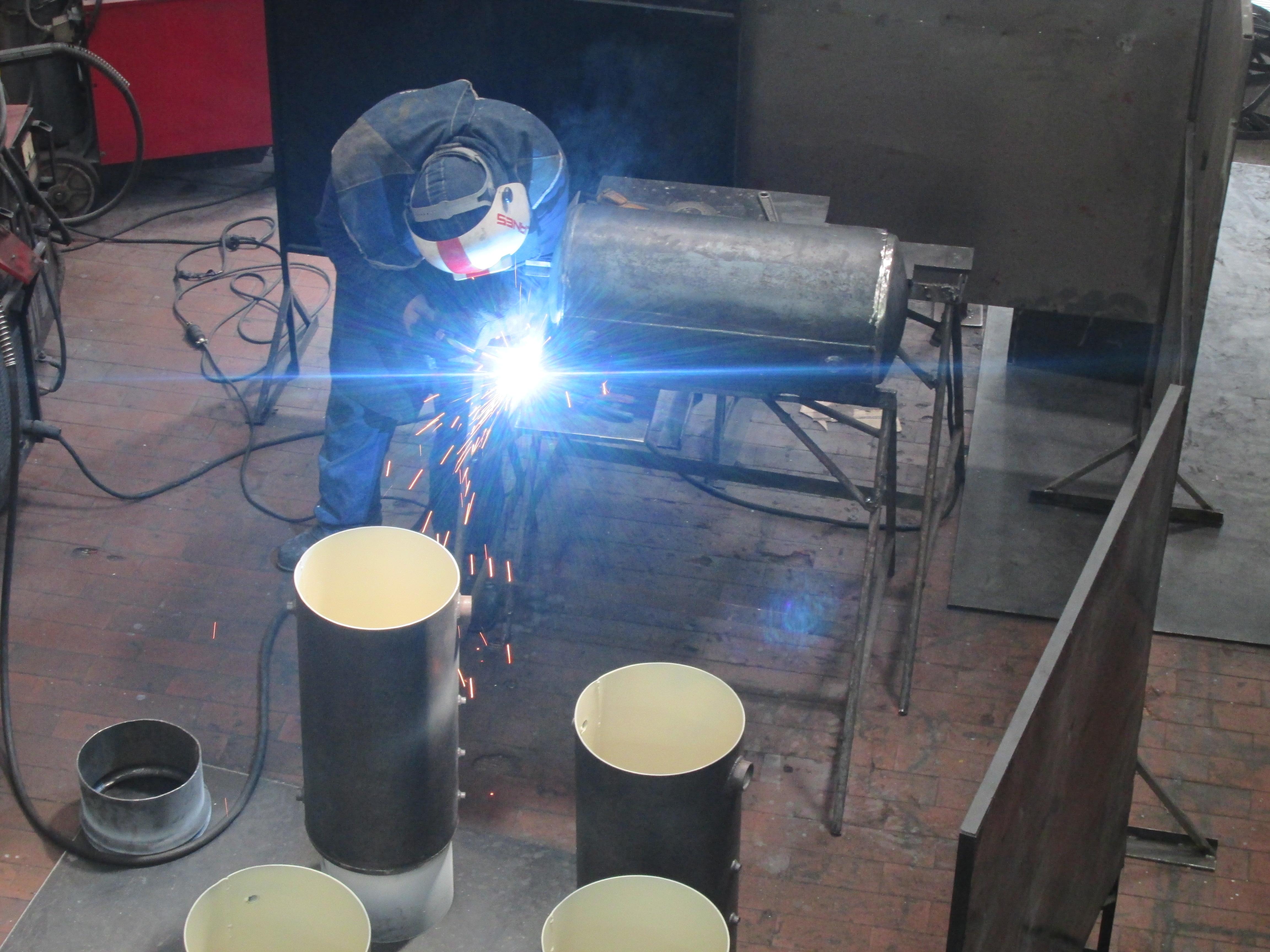 Servicio fabricación tanques de almacenamiento