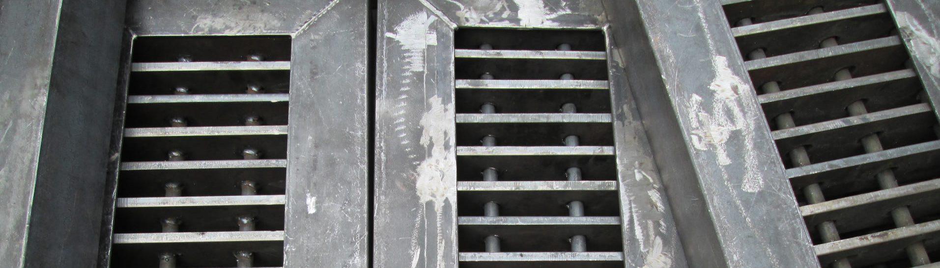 Rejilla metálico para cárcamo